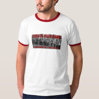 Turn in your Arms - Red Shirt