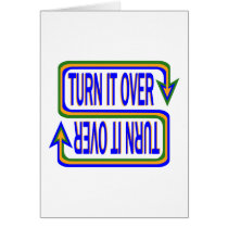 Turn it Over Card
