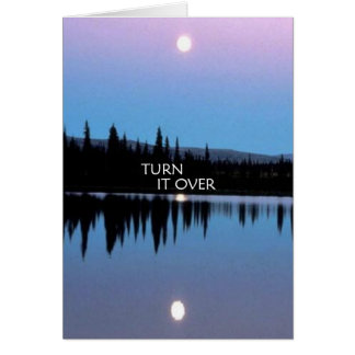 Turn It Over Greeting Cards