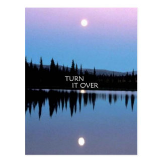 Turn It Over Postcard