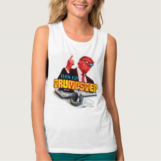 Turn it UP TrumpStep Flowy Muscle Tank Top
