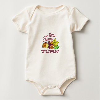 Turn Leaves Baby Bodysuit