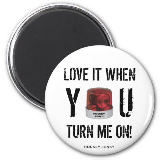 TURN ME ON! 2 INCH ROUND MAGNET