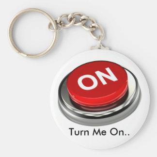'Turn Me On' Logo Key Chain