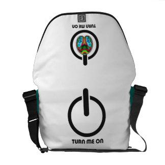 Turn Me On Tech Smart Messenger Bag