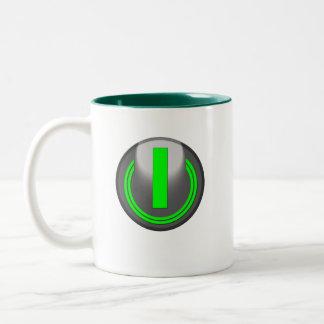 Turn Me On Two-Tone Coffee Mug