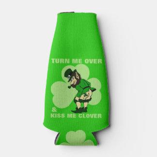 Turn Me Over Leprechaun Bottle Cooler
