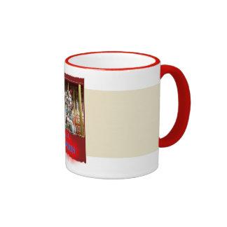 turn mill, Merry-Go-Round Ringer Mug