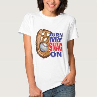 Turn My Snag On - Baseball Shirt