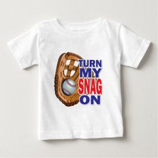 Turn My Snag On - Baseball Tee Shirt