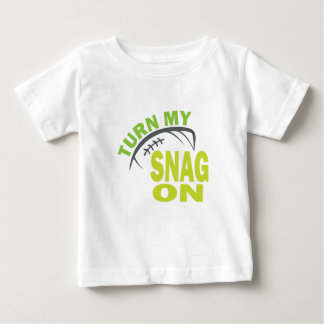 Turn My Snag On - Football Receiver Tee Shirt