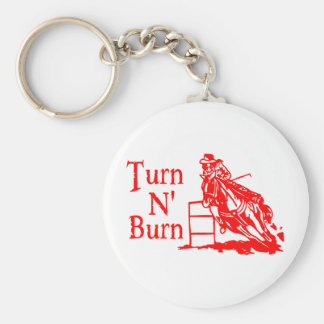 TURN N BURN KEYCHAIN