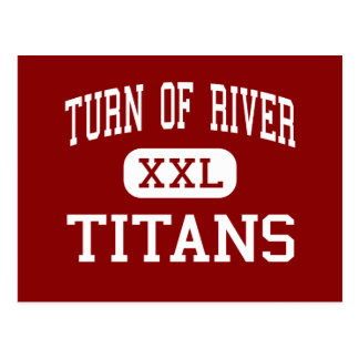 Turn Of River - Titans - Middle - Stamford Postcard