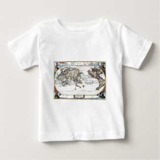 Turn of the 18th century world map baby T-Shirt