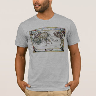 Turn of the 18th century world map T-Shirt
