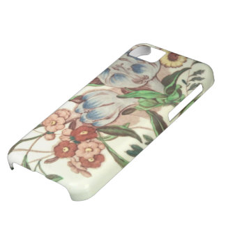 Turn of the Century  Crocus Pattern Cell Cover For iPhone 5C