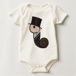 Turn of the Century Snail Baby Bodysuit