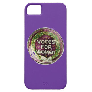 Turn of the Century Votes for Women Button Phone iPhone 5 Covers