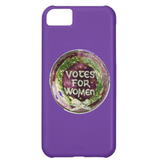 Turn of the Century Votes for Women Button Phone iPhone 5C Cover