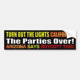 Turn Off California Bumper Sticker