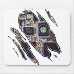 Turn off Ripped Glow Mouse Pad