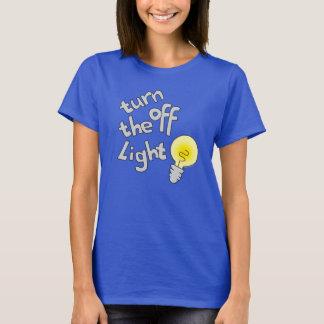 turn off the light bulb shirt