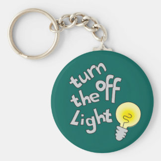 Turn off the light graphic named keychain