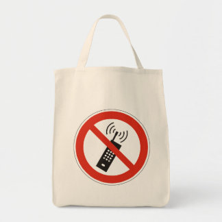 Turn Off Your Cell Phone Tote Bag