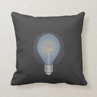Turn On and Off Throw Pillow