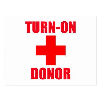 Turn-ON Donor Postcard