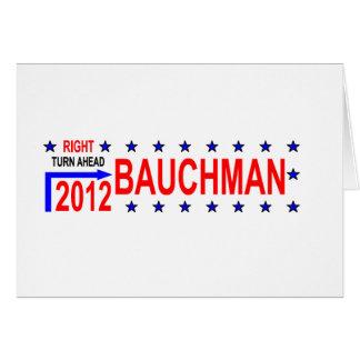 TURN RIGHT 2012_BAUCHMAN CARD