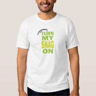 Turn Snag On - Football Receiver (light) Tee Shirt