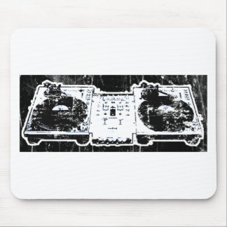 Turn Tables Mouse Pad