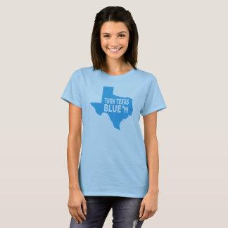 Turn Texas Blue Women's T-Shirt   Repaint America