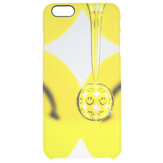 Turn that Frown Upside Down   Clear iPhone 6 Plus Case
