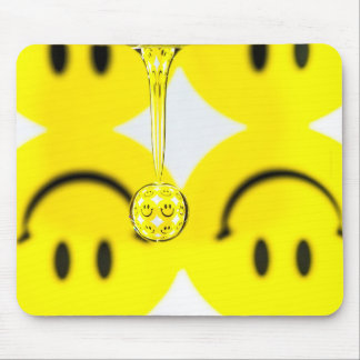 Turn that Frown Upside Down   Mouse Pad