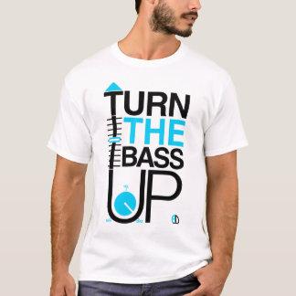 TURN THE BASS UP + Volume music Dj t shirt