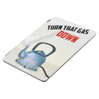 Turn the Gas Down vintage poster iPad Air Cover