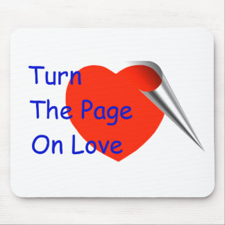 Turn the Page on Love Mouse Pad
