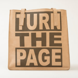 Turn the Page Tote