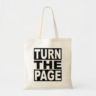 Turn the Page Tote Bag
