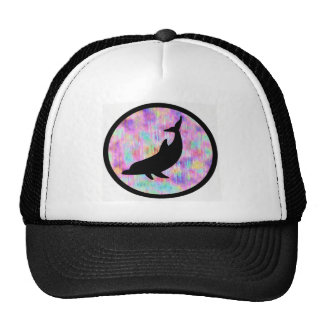 TURN TO DOLPHINS MESH HAT