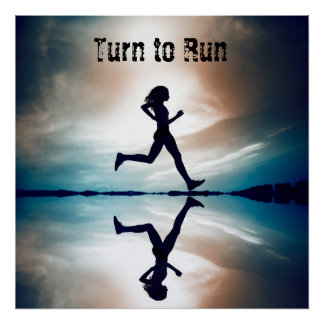 Turn to Run Poster