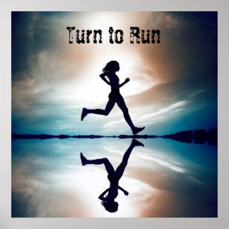 Turn to Run Poster