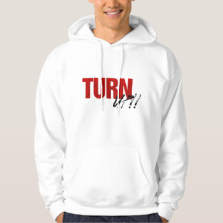 Turn Up Hoodie (white/red)