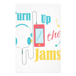 Turn Up Jams Stationery