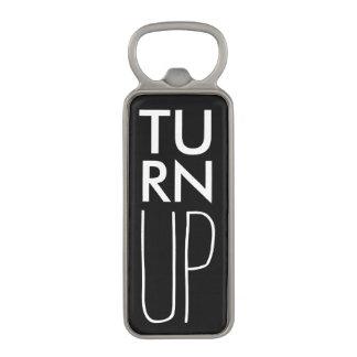 Turn UP Magnetic Bottle Opener