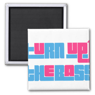 turn up the base 2 inch square magnet