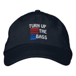Turn Up The Bass Baseball Hat