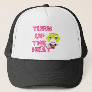 Turn Up The Heat-Cute Monkey-Morocko Trucker Hat